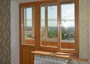 Балконный блок и остекление лоджии от компании ФСК